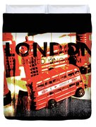 Wonders Of London Duvet Cover