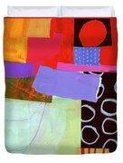 Wonky Grid #19 Duvet Cover