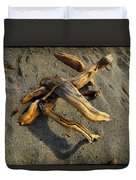 Wood And Sand Duvet Cover