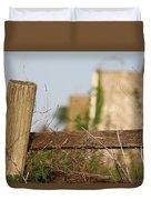 Wood Compass Duvet Cover