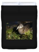 Wood Duck Female Duvet Cover