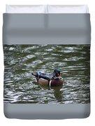 Wood Duck Male 20130924_258 Duvet Cover