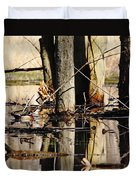 Wood Ducks Duvet Cover