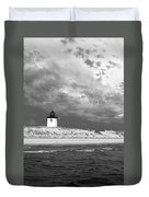 Wood End Lighthouse Provincetown Duvet Cover