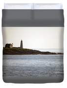 Wood Island Lighthouse 2 Duvet Cover