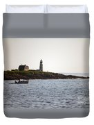 Wood Island Lighthouse 3 Duvet Cover
