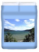 Wood Lake In Summer Duvet Cover