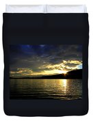 Wood Lake Sunburst Duvet Cover