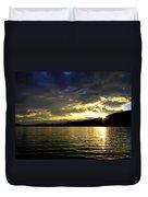 Wood Lake Sunburst Duvet Cover