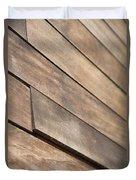 Wood Planks Duvet Cover by Nancy Ingersoll