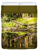 Wood Reflections Duvet Cover