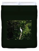 Wood Stork-out On A Limb Duvet Cover