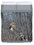 Woodcock Flight Ascension Duvet Cover