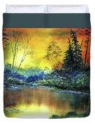 Wooded Serenity Duvet Cover