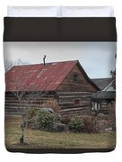 Wooden Barn Duvet Cover