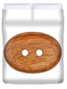 Wooden Button Duvet Cover