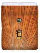 Wooden Ceiling Duvet Cover