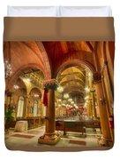 Wooden Church Duvet Cover
