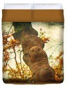 Wooden Creatures Duvet Cover