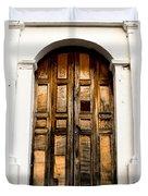 Wooden Door 1 Duvet Cover