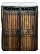 Wooden Door 2 Duvet Cover