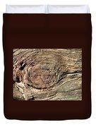 Wooden Eye 1 Duvet Cover