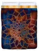 Wooden Mandala Duvet Cover