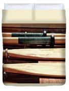 Wooden Oar Pattern Duvet Cover
