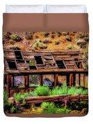 Wooden Shack Duvet Cover