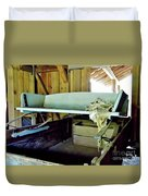 Wooden Wagon Seat Duvet Cover