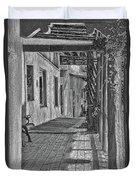 Wooden Walkway Duvet Cover