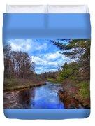 Woodhull Creek Duvet Cover