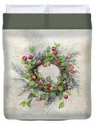 Woodland Berry Wreath Duvet Cover
