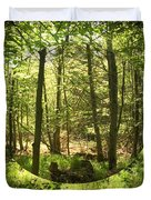 Woodland Bubble Duvet Cover