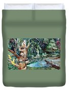 Woodland Critters Duvet Cover