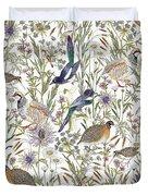 Woodland Edge Birds Duvet Cover