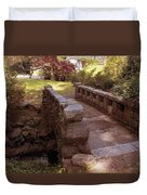 Woodlawn Footbridge Duvet Cover