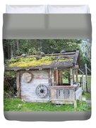 Woodman's Cabin  Duvet Cover