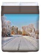 Woodmans Hoarfrost Duvet Cover
