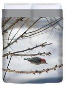 Woodpecker Diver Duvet Cover