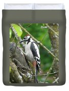 Woodpecker Duvet Cover