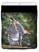 Woodpecker Wings Duvet Cover