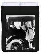 Woodrow Wilson (1856-1924) Duvet Cover