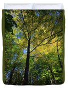 Woods In Nh Duvet Cover