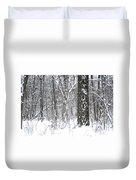 Woods In Winter Duvet Cover