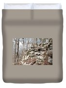 Woods Of Lake Guntersville Duvet Cover
