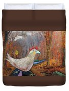 Woods Road 2 - Autumn Duvet Cover