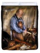 Woodworker - The Carpenter Duvet Cover