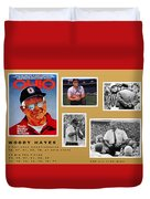 Woody Hayes Legen Five Panel Duvet Cover