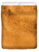 Wool Orange Duvet Cover